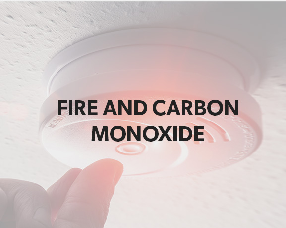 fire and carbon monoxide